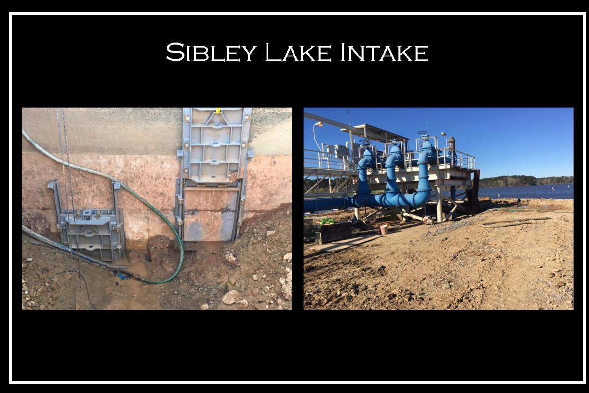 Sibley Lake Intake - city of natchitoches