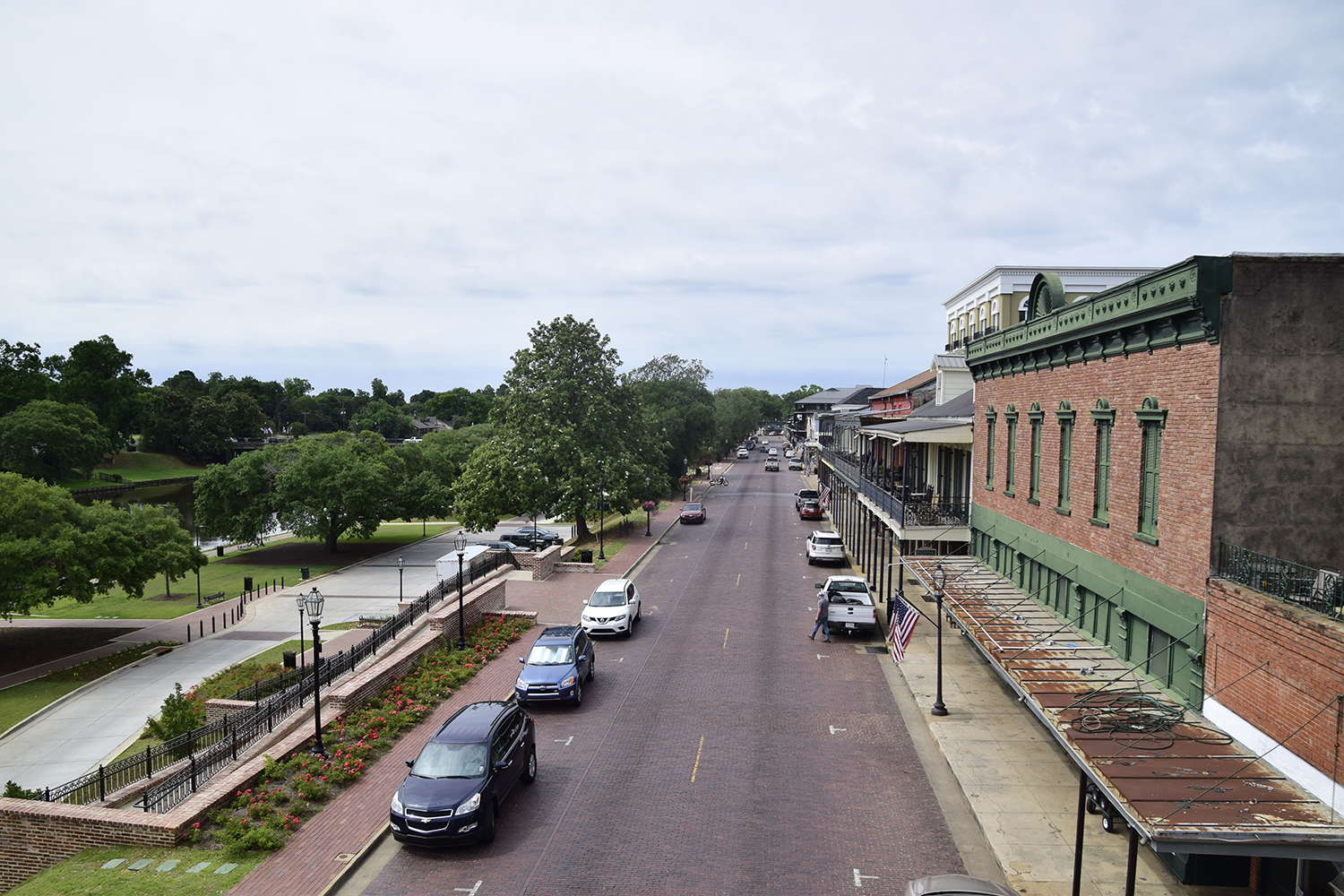 Downtown attractions city of natchitoches