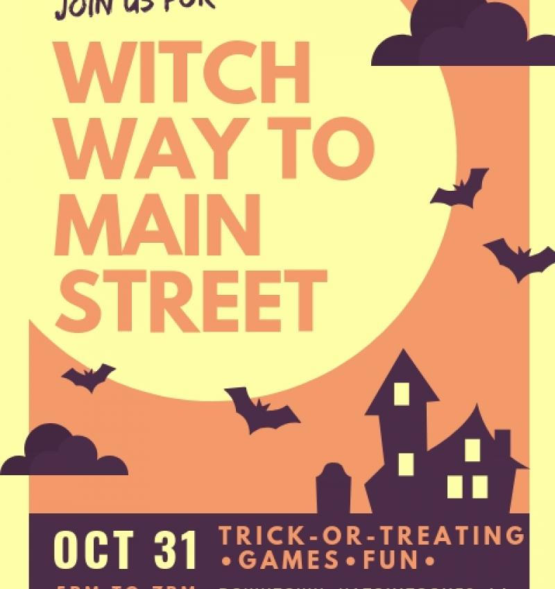Witch way - city of natchitoches